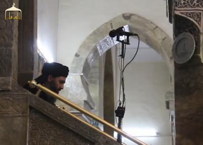 بۆیەکەمین جار بەدەنگ و ڕەنگ ، گوێ لە دامەزرێنەری داعش بگرن . گرتە ڤیدیۆ .