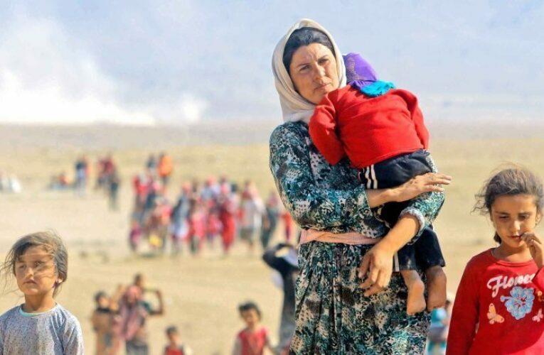 ڕهسوڵ بۆسكێنی: ژن و منداڵه ئێزیدیهكانی قوربانی داعش.